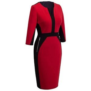 e93c9048 Homeyee Dresses   Womens Stretch Tunic Pencil Sheath Dress   Poshmark